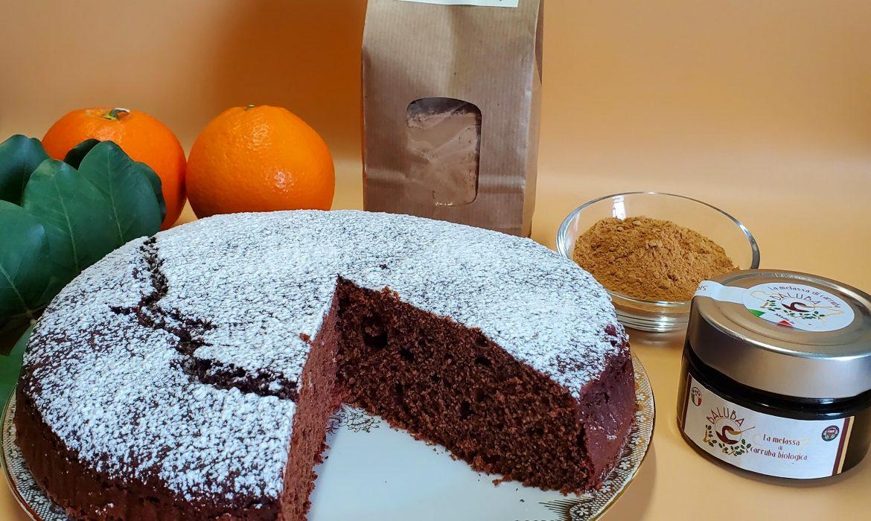Torta all'Arancia e Carruba (adatta ai diabetici)