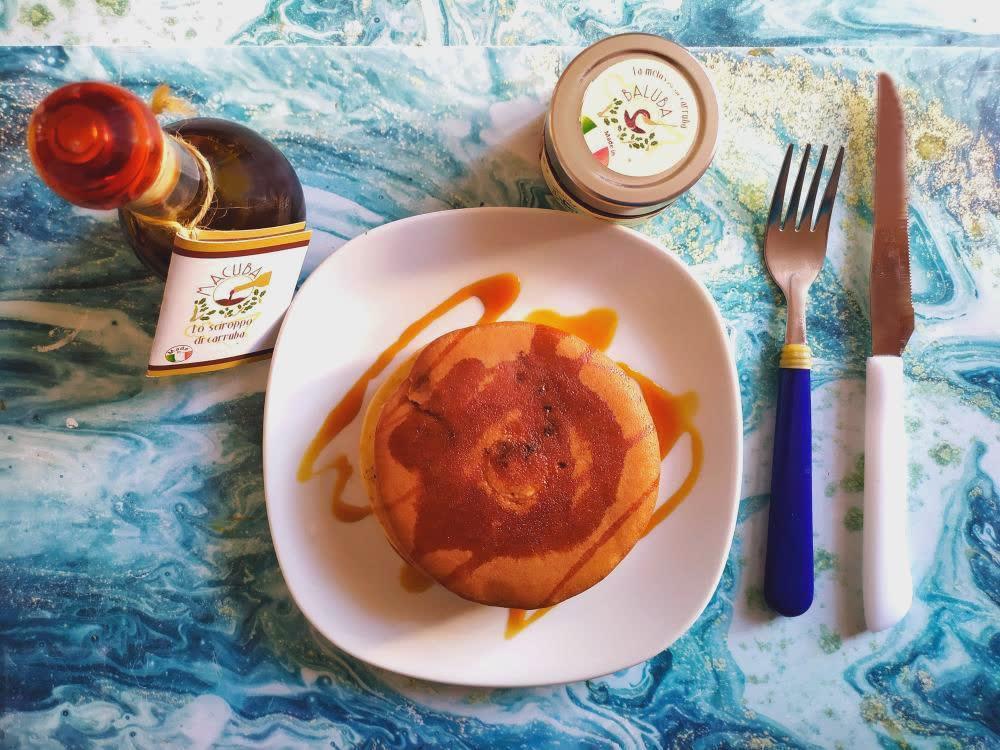 Ricetta di Pancakes con Carruba