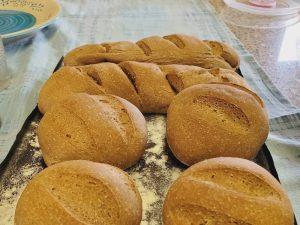 Pane semi integrale con farina di carruba